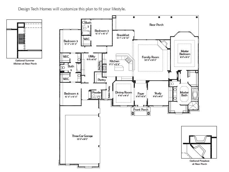 ... the bulverde design tech homes on design tech homes floor plans